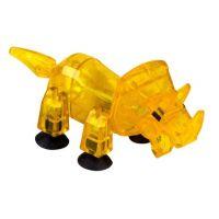 StikBot dino Triceratops žlutý