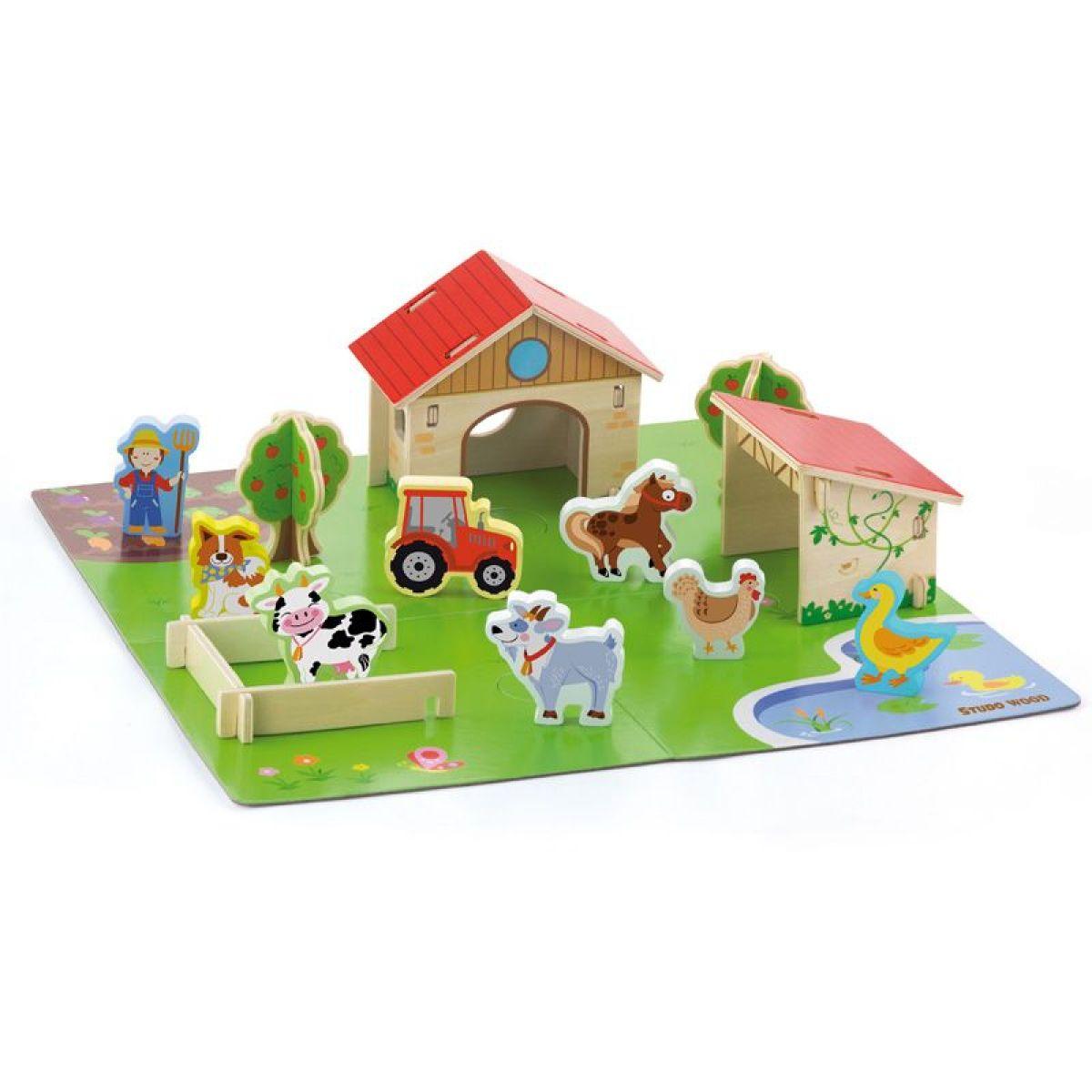 Studo Wood 3D Farma