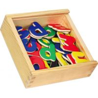 HM Studio Studo Wood Magnetky písmena 52ks