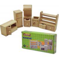 HM STUDIO Dřevěný mini nábytek kuchyně 2
