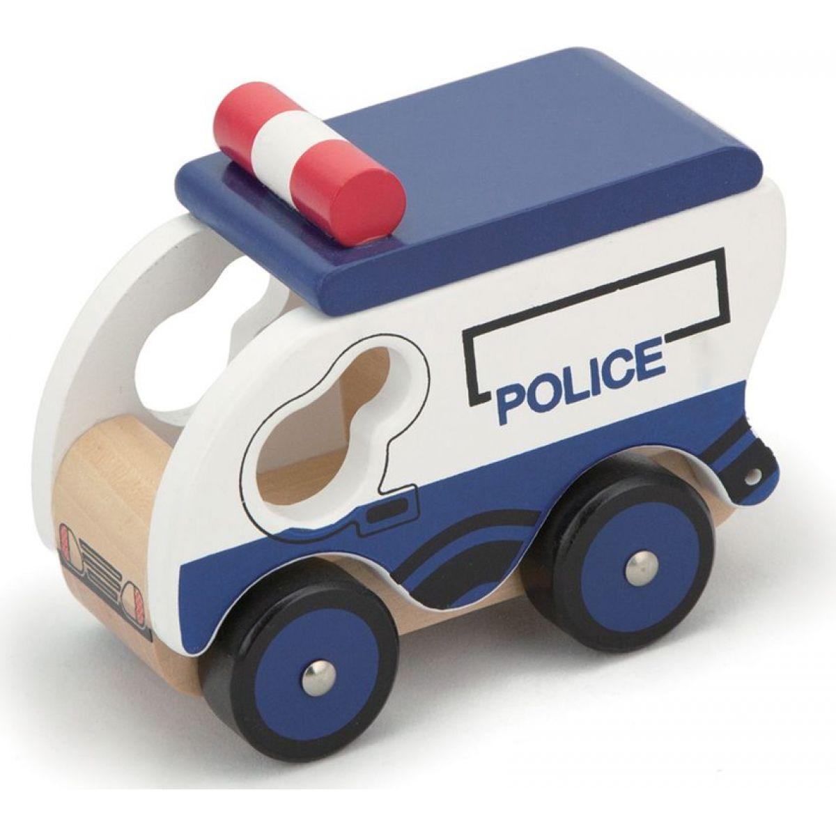 HM Studio Study Wood Policajné vozidlo