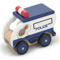 HM Studio Studo Wood Policejní vůz