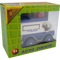 HM Studio Study Wood Policajné vozidlo 2