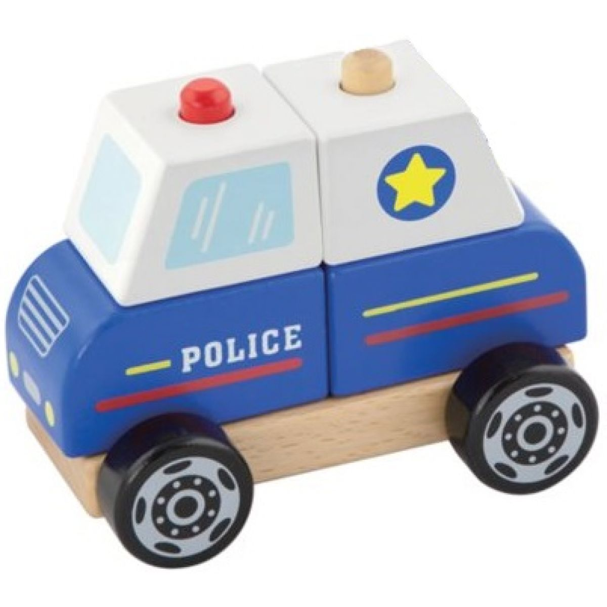 Study Wood Polícia skladacia