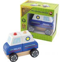 Study Wood Polícia skladacia 2