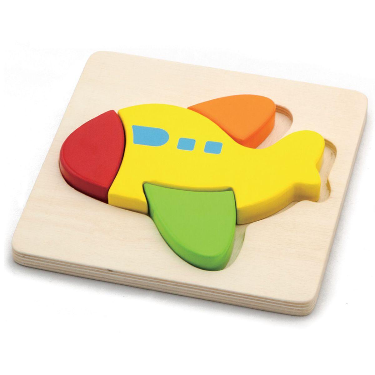 HM Studio Study Wood Puzzle Lietadlo
