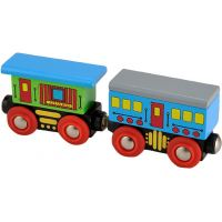 HM Studio Studo Wood Vláček vagon 2ks