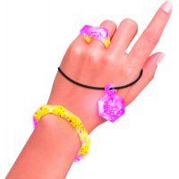 Style4Ever výroba šperkov Fialovo žlté 4