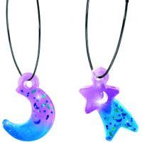 Style4Ever výroba šperkov Modro fialové 2