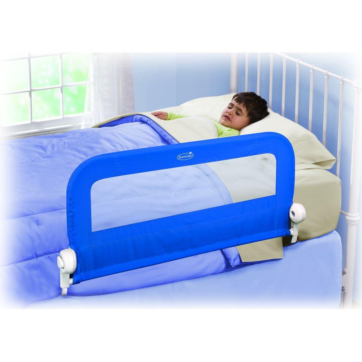 Summer Infant Jednostranná bezpečnostná zábrana modrá