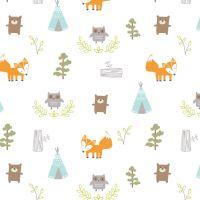 Summer Infant SwaddleMe mušelínová prikrývka 2ks modrá lesný motív 3