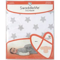 Summer Infant SwaddleMe Spací vak šedej hviezdy 3