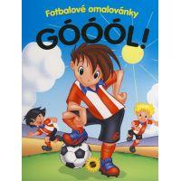 Kolektiv Góóól! Fotbalové omalovánky