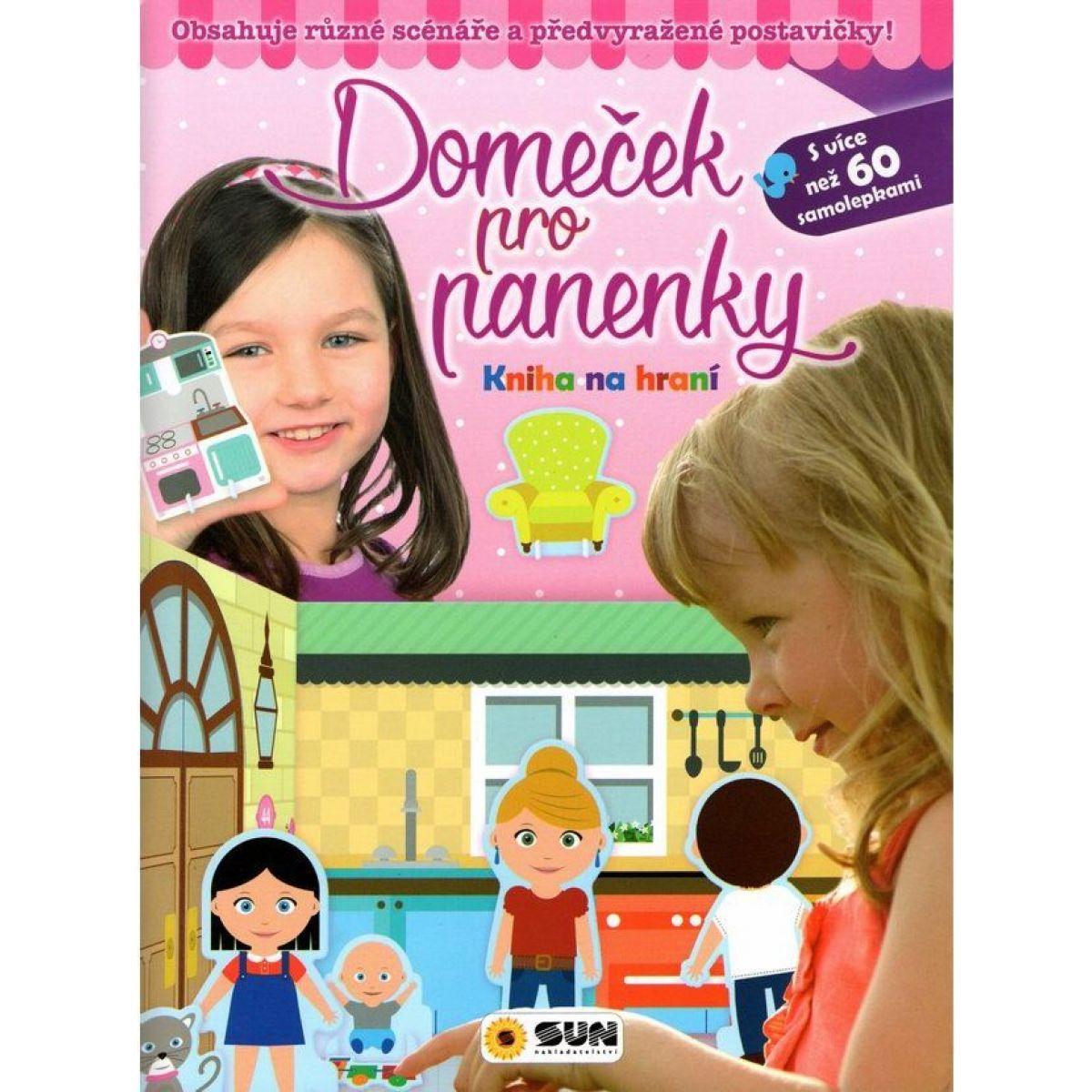 Sun Kniha na hranie Domček pre bábiky