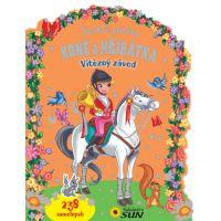 Koně a hříbátka Vítězný závod