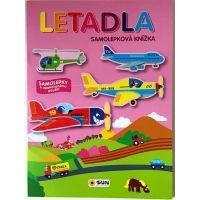 Letadla - samolepková knížka -