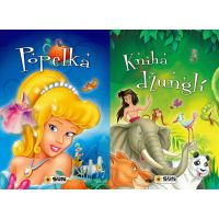 Sun Popelka a Knihy džunglí velká písmena