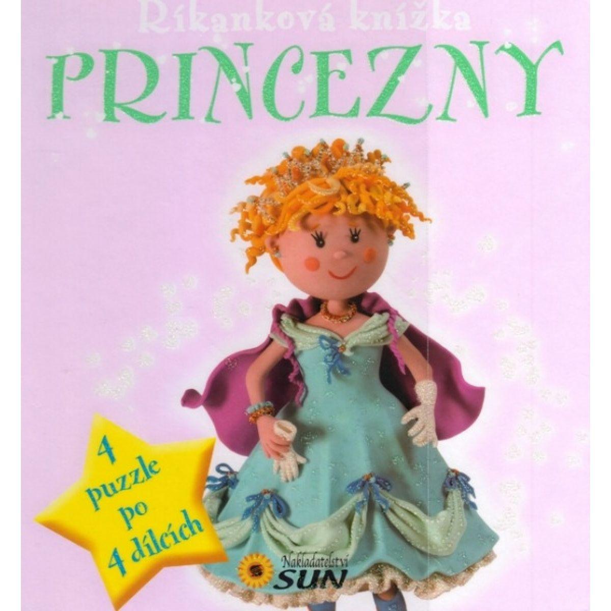Sun Říkanková puzzle kniha Princezné