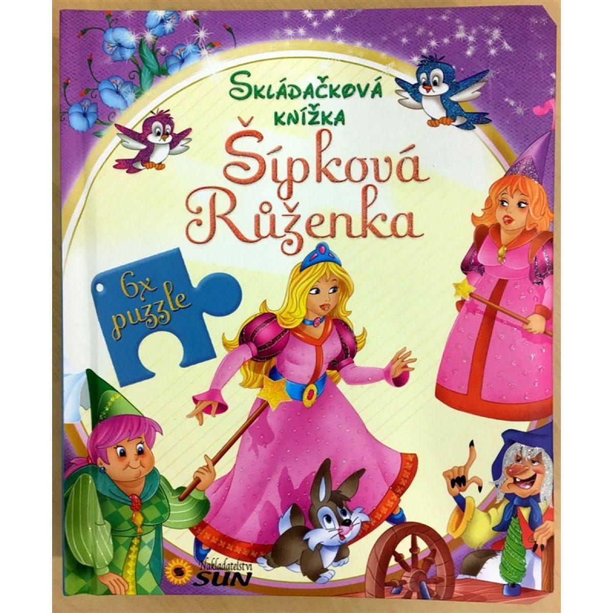Skládačková knížka - Šípková Růženka - neuveden