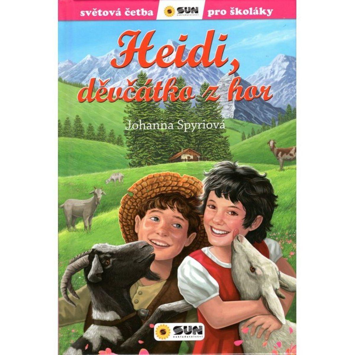 Svetová čítanie pre školákov Heidi