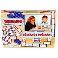 Domino: Sčítanie a odčítanie 3