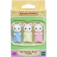 Sylvanian Families Baby Marshmallow myšky trojčata 2