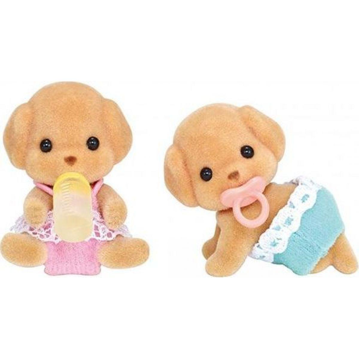Sylvanian Families 5261 Baby pudli dvojčatá