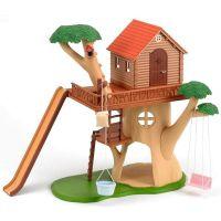 Sylvanian Families Dárkový set Dům na stromě s příslušenstvím