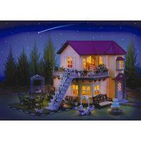 Sylvanian Families Mestský dom poschodový so svetlami 3