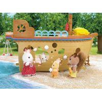 Sylvanian Families 5210 Dobrodružná loď plavba za pokladom 3
