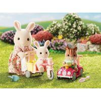 Sylvanian Families 3567 Mamička biely králik s hrajúcimi sa mláďatami 3