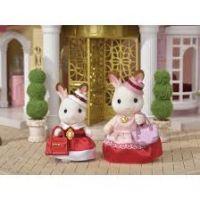 Sylvanian Families chocolate 2 králičie kamarátky v elegantných šatách 2