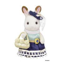 Sylvanian Families Mesto chocolate králičice sa žltou kabelkou