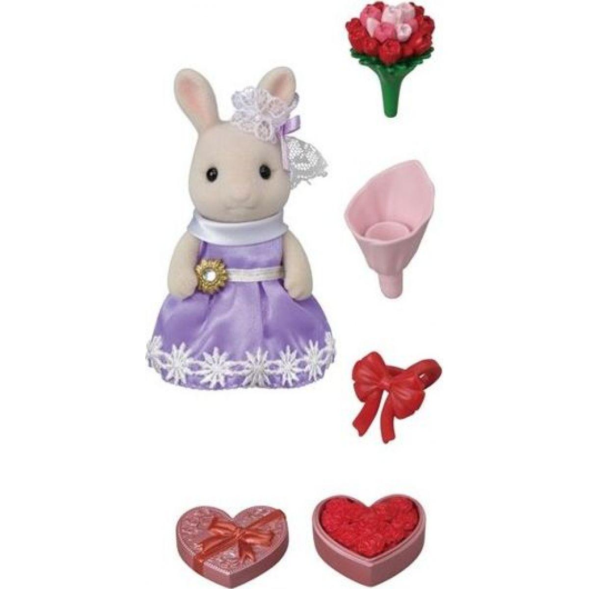 Sylvanian Families Mesto králik s kvetinovými darmi