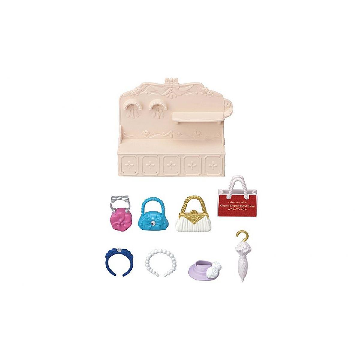 Sylvanian Families Mesto módny butik s kabelkami a doplnky