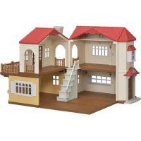 Sylvanian Families Patrový dům s červenou střechou- Poškodený obal