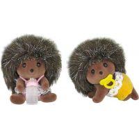 Sylvanian Families Rodina dvojčatá ježkovia