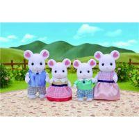 Sylvanian Families Rodina Marshmallow myšky 2