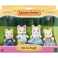 Sylvanian Families Rodina hodvábnych mačiek 2