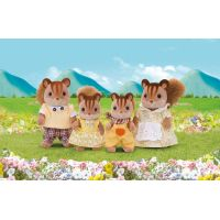 EPOCH 3136 Sylvanian families Rodina hnedých veveričiek 2