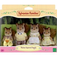 EPOCH 3136 Sylvanian families Rodina hnedých veveričiek 3
