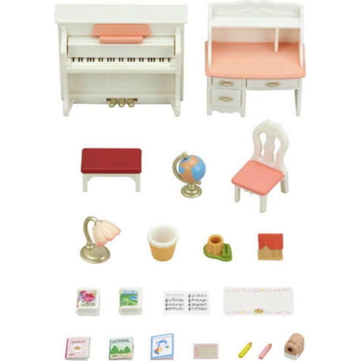 Sylvanian Families Set piano a písací stôl