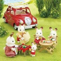 Sylvanian Families Strešný nosič s piknik setom 3
