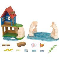 Sylvanian Families Zábavný hrací domček pri mori 2