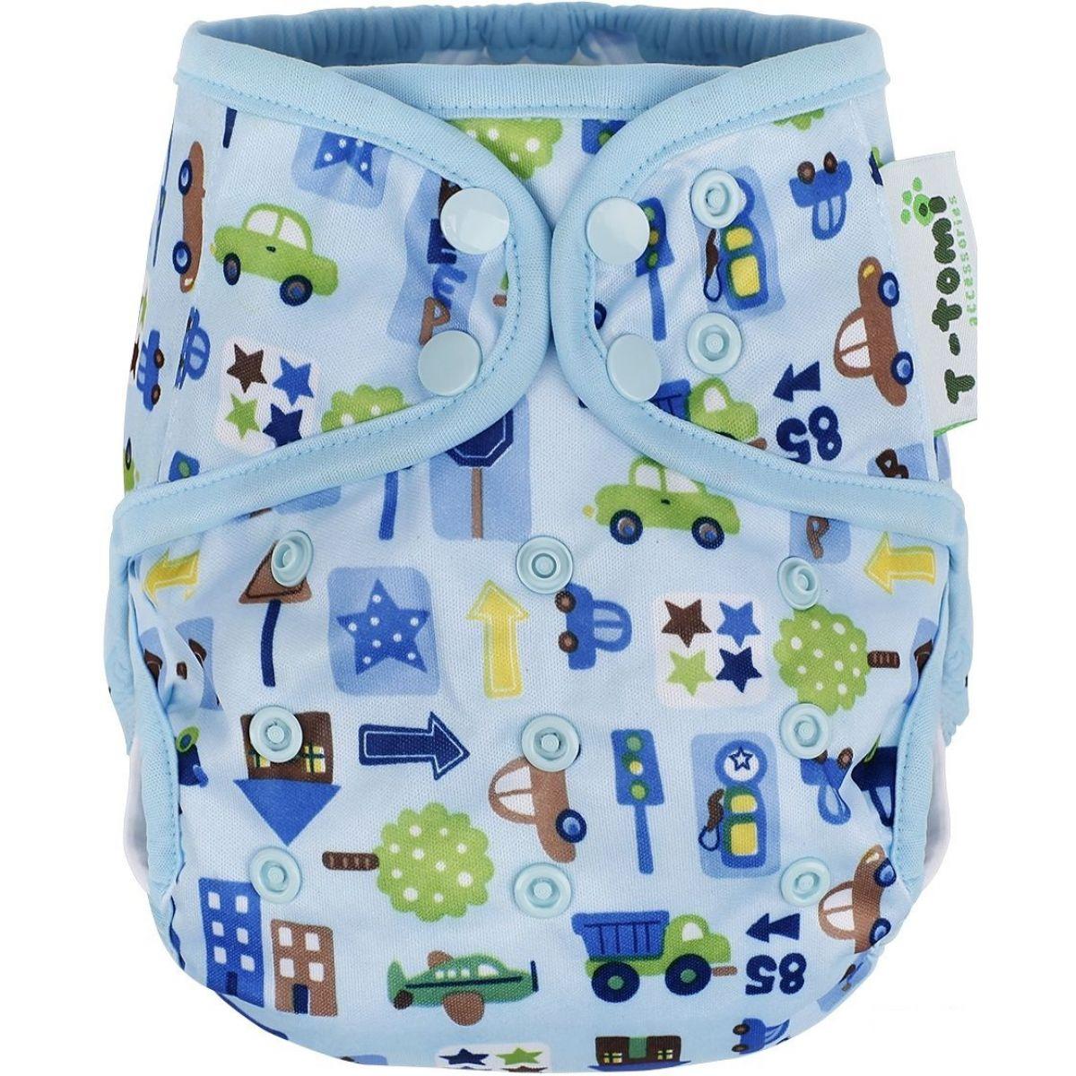 T-tomi Svrchní kalhotky, 1 ks, modrá auta