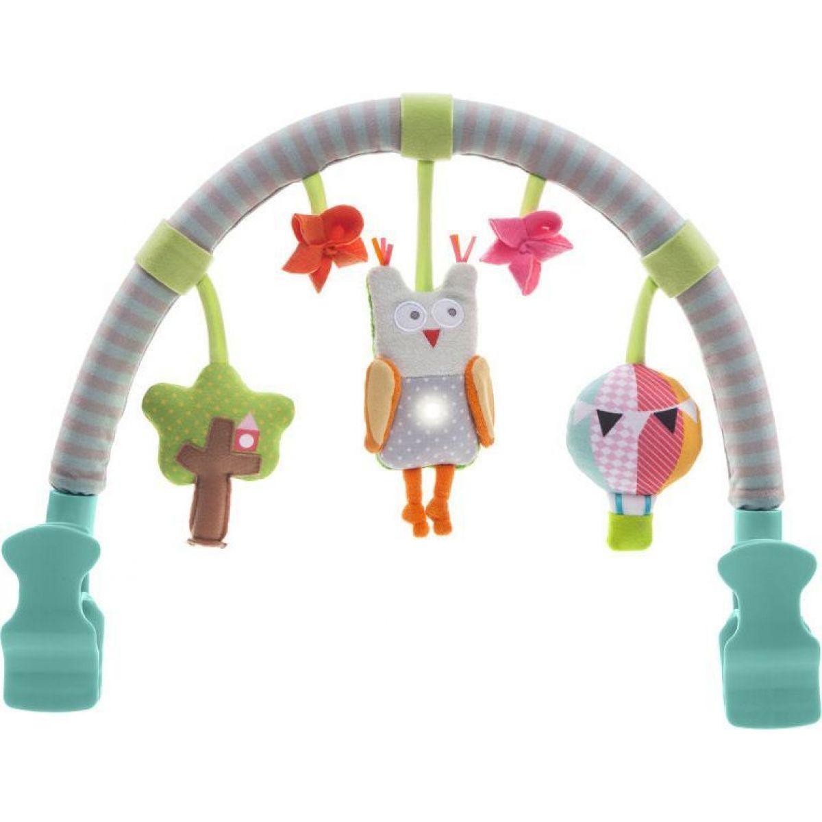 Taf Toys Hudobný pultík do auta Sova