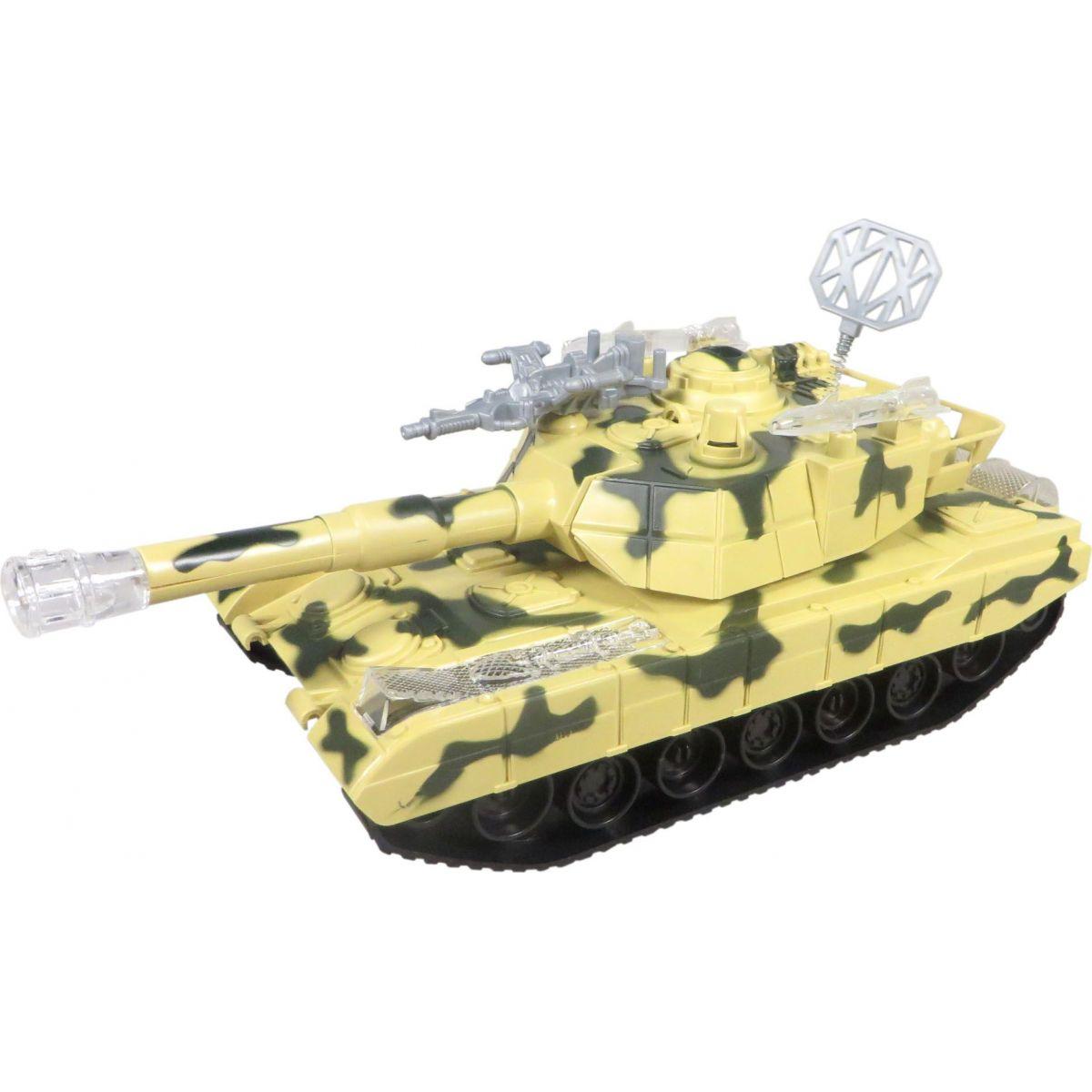 Made Tank se světlem a hudbou na baterie Béžová