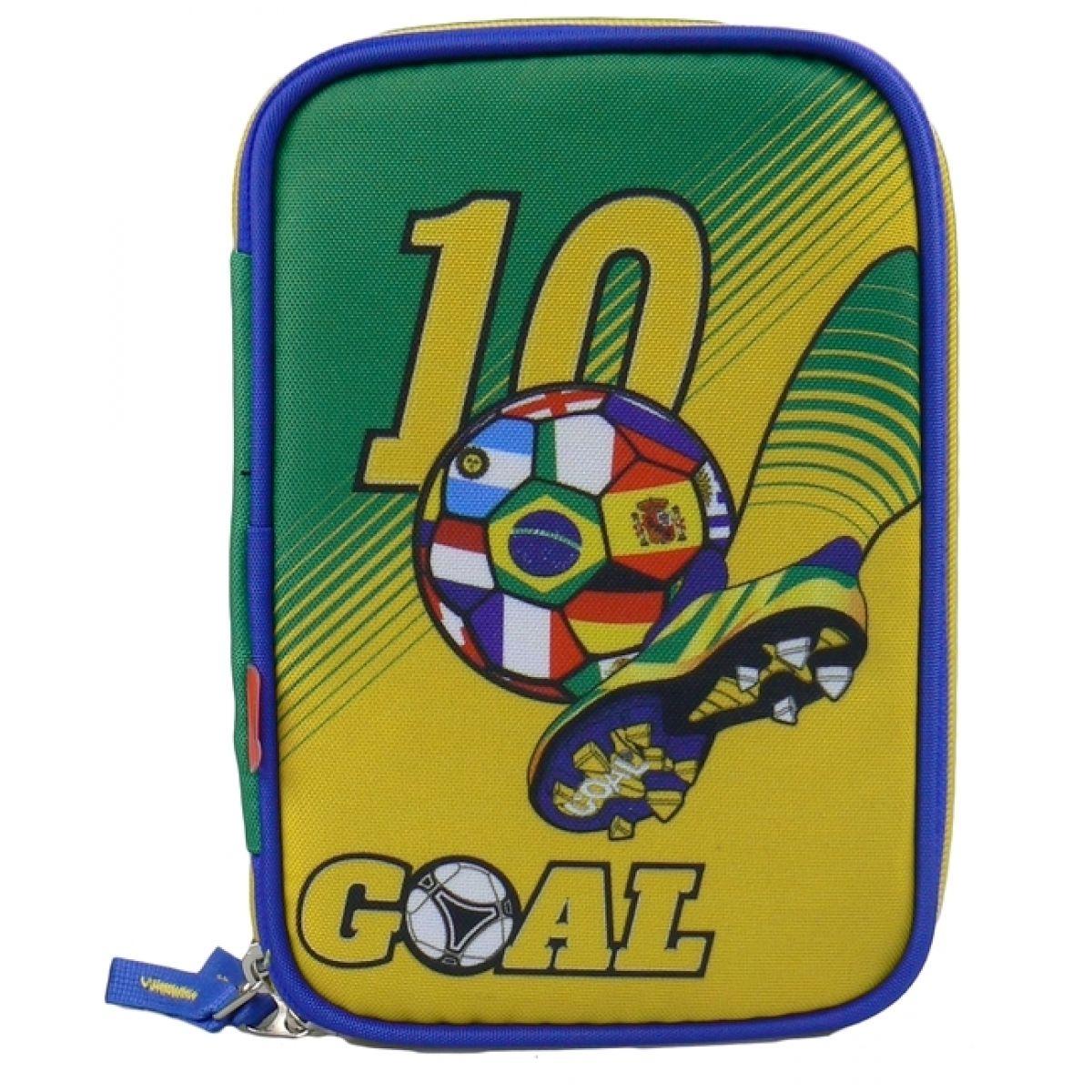 Target Fotbal žluto zelený Plný