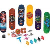 Tech Deck Skateshop 6ks s příslušenstvím Santa Cruz