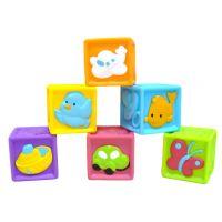 Redbox 23305 Dětské pískací kostky 6ks